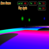 3D Neon Space Racing spielen!