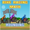 Bike Racing Math Rounding spielen!