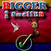 Bigger or Smaller spielen!