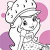 Coloring Strawberry Shortcake Shy spielen!